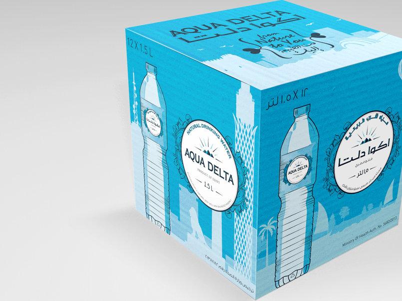 Packing design - carton pack تصميم كرتونة التغليف