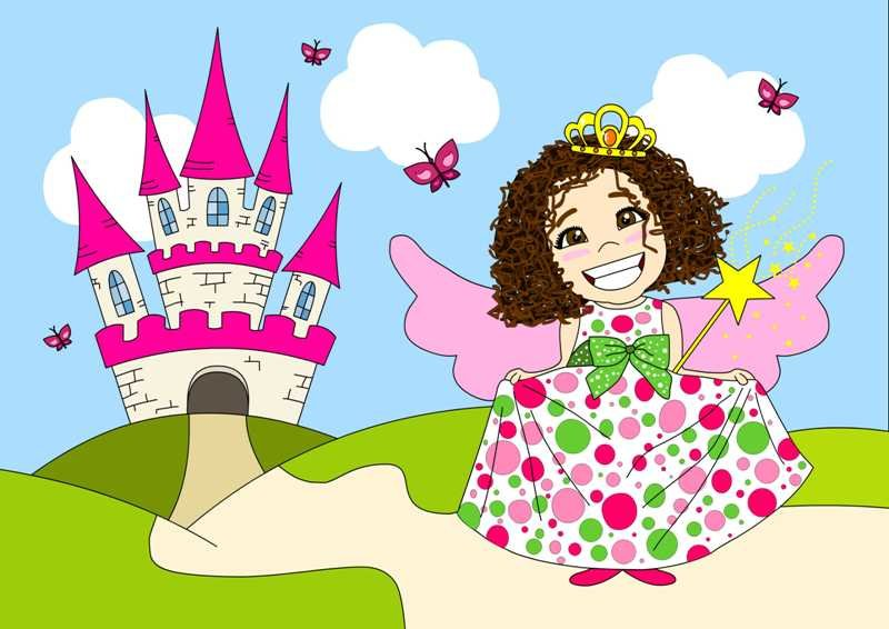 That's micha! just don't be fooled by the princess look!:P