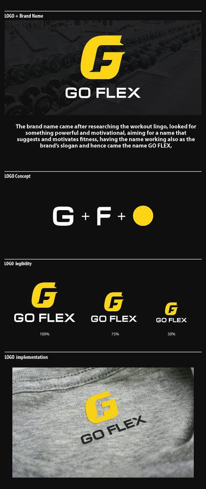 GO Flex brand identity