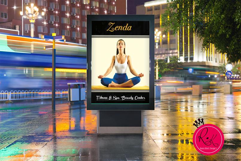 yoga poster AD
