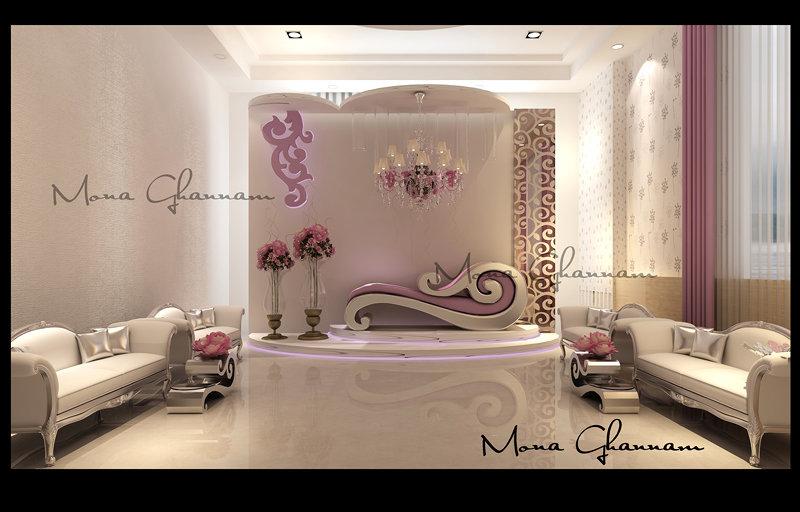 تصميم كوش العرائس