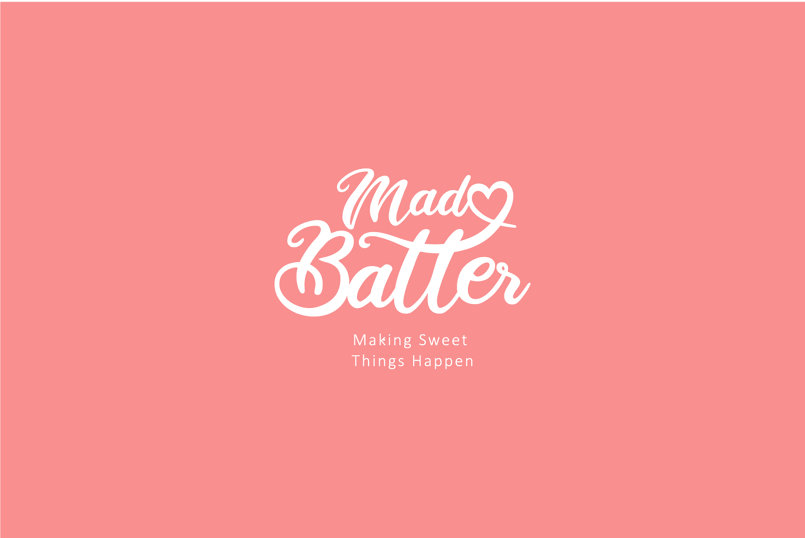 mad batter branding and logo