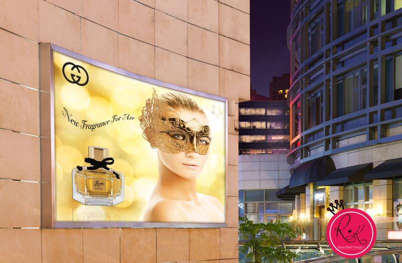 Gucci perfume AD
