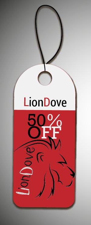 """نموذج صورة خصم لصفحة """" LionDove """" على موقع فيس بوك ."""