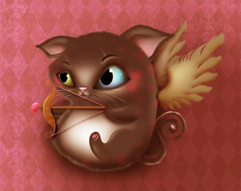 Cupid Kitty
