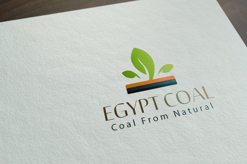 لوجو شركة فحم طبيعى