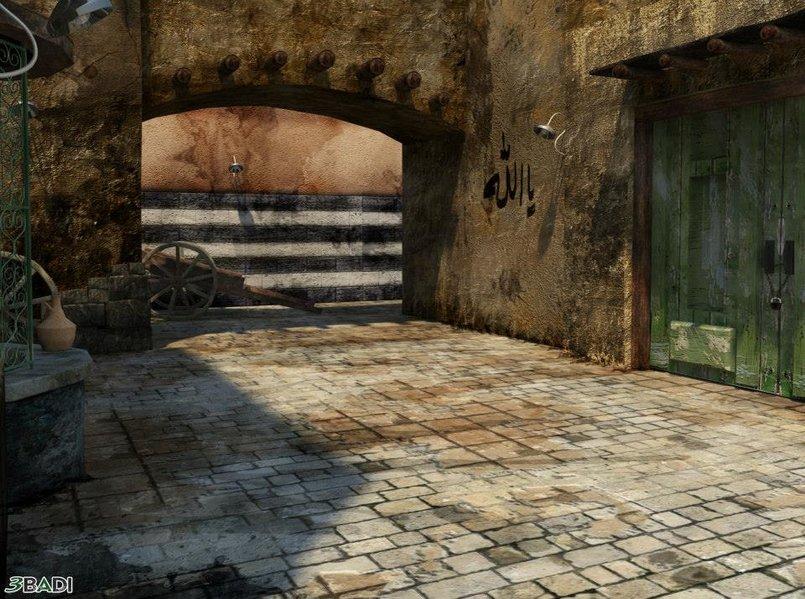Ancient Syrian Alleyway 2