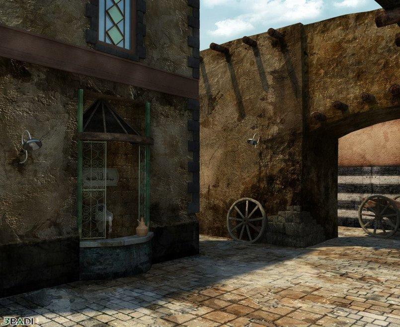 Ancient Syrian Alleyway