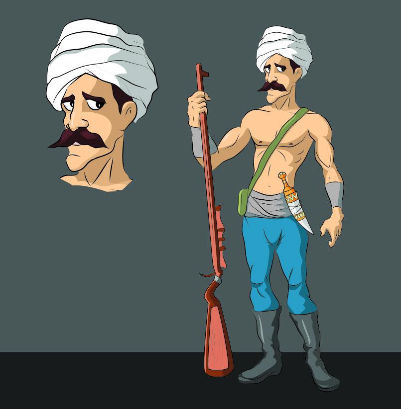 Arabian Warrior