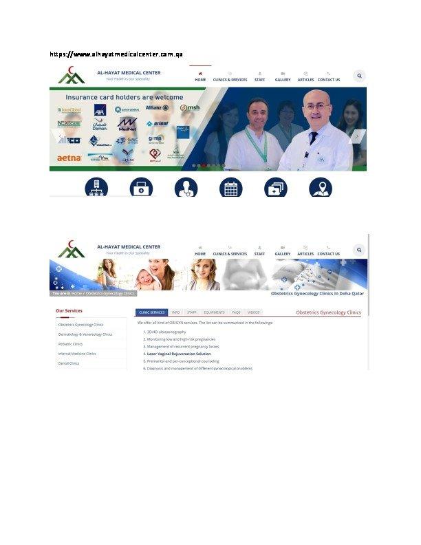 مركز الحياة الطبي الدوحة قطر