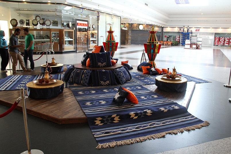 Mall decoration and Ramadan theme for Ramadan 2012