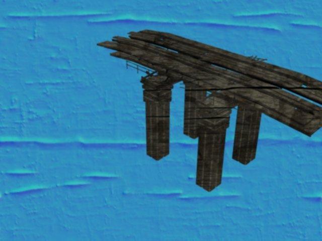 تصميم مبدئي وتجريبي لمباني واجهة العاب 3D بدون v-ray