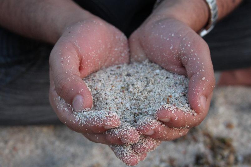 رمال البحر