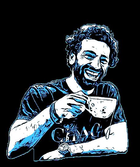 Mohamed Salah Comic Art Design