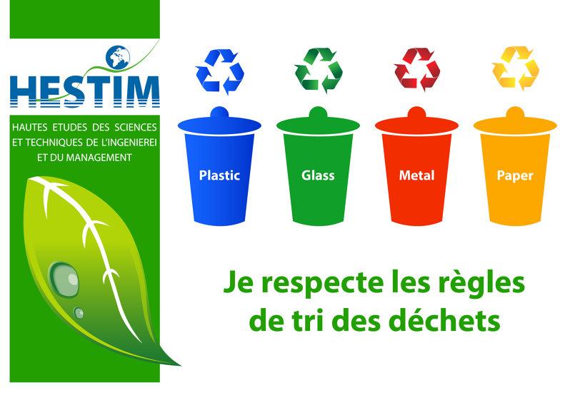 لنحترم قواعد فرز النفايات