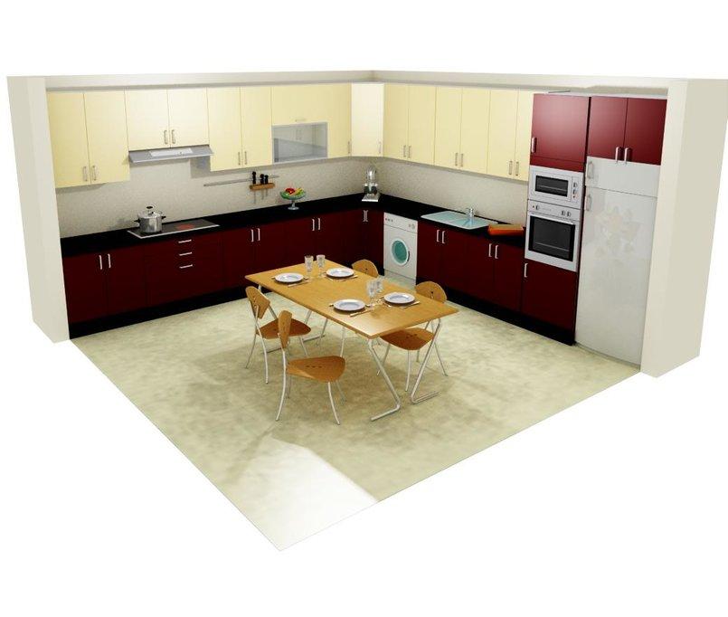 cuisines design 3D