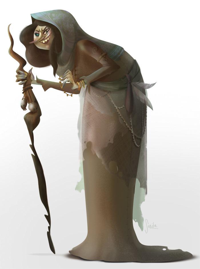 Baba Yaga Character Design