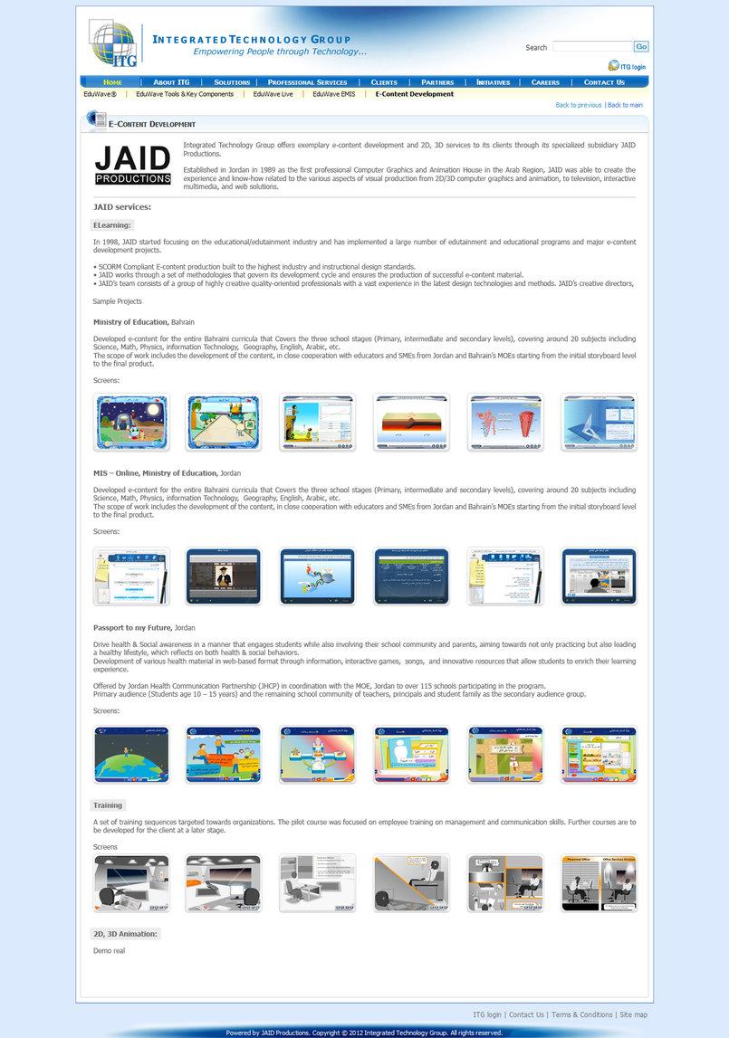 JAID page