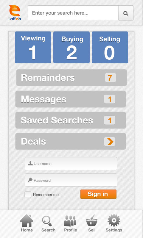 Laffeh Mobile App