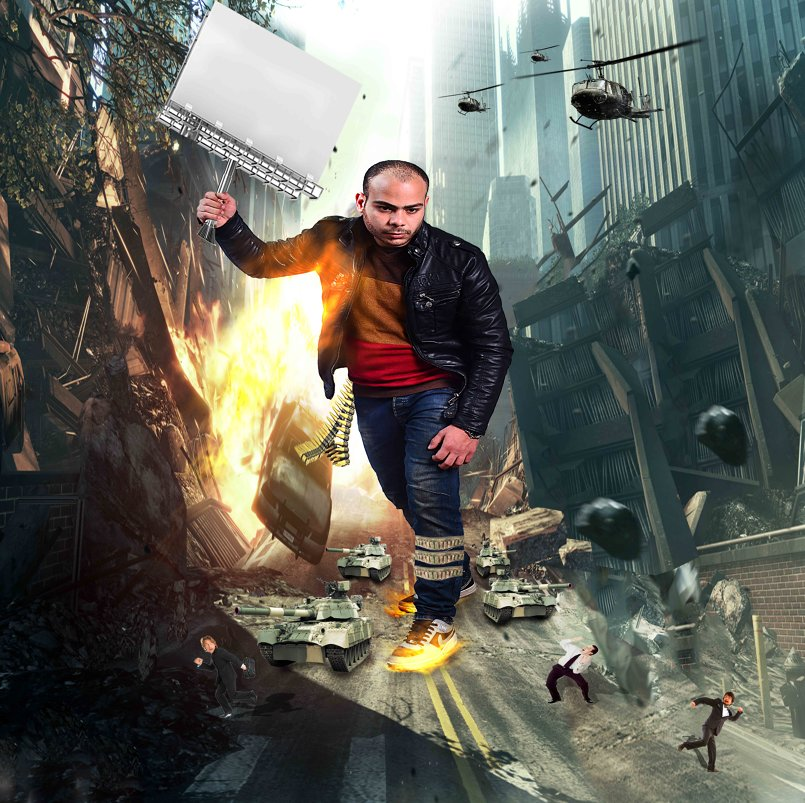 poster fury city
