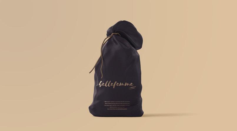 Belle Femme Cosmetic House Branding