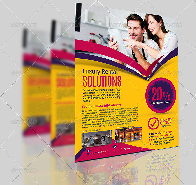Multipurpose Business Flyer Template Vol.1