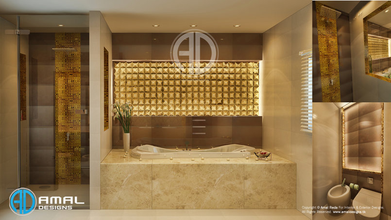 Modern bedroom bath