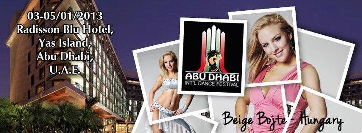 Abu Dhabi International Dance Festival Campaign