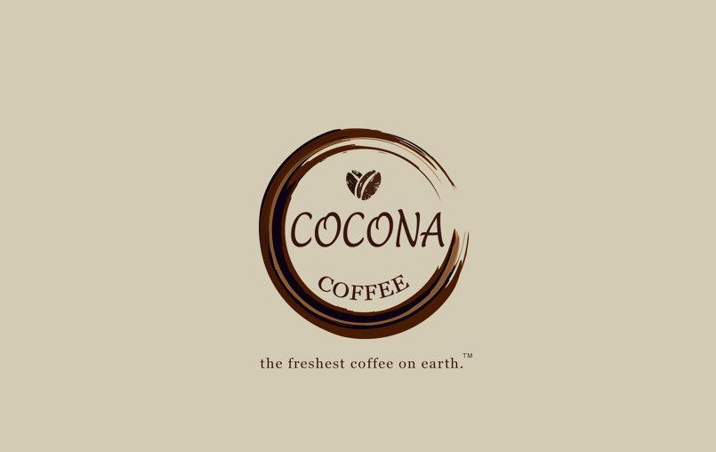 Corporate identity design project for Cocona Coffee.