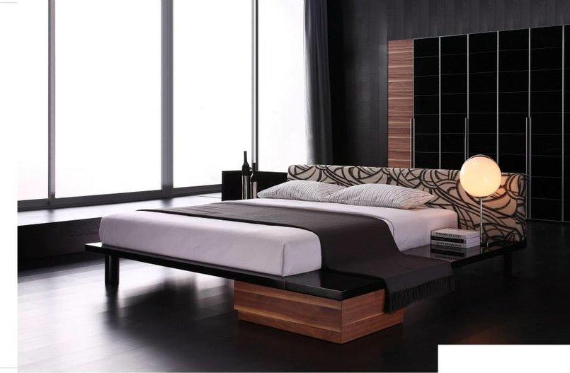 3d realistic rendering bedroom