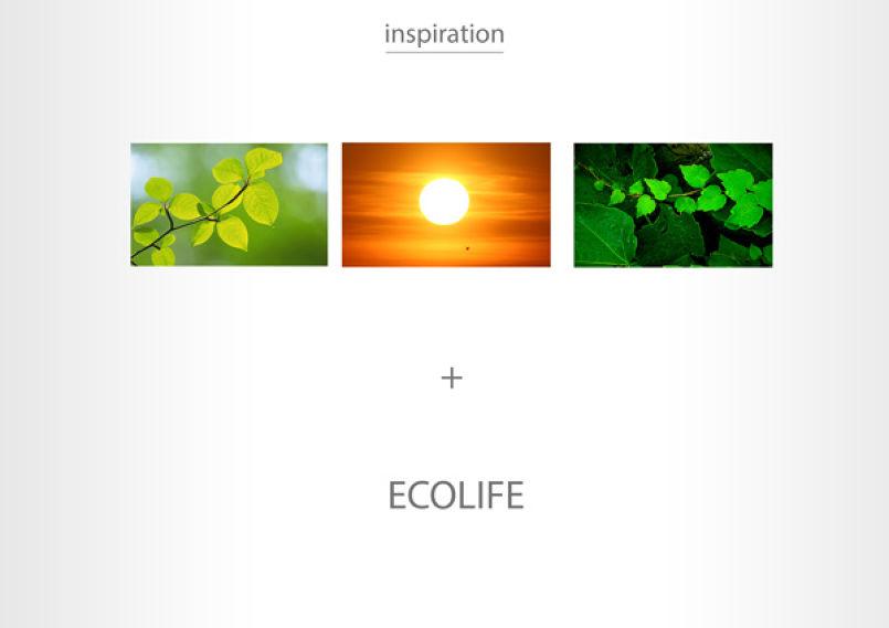 ecolife's corporate identity