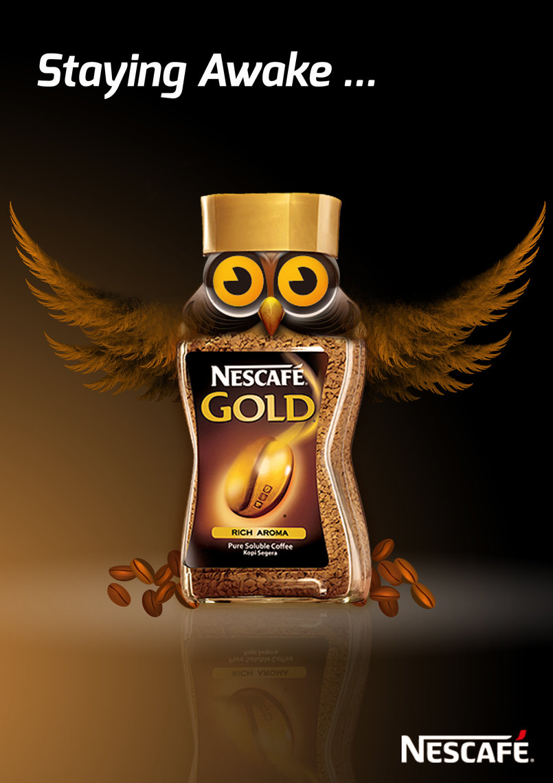 Nescafe Outdoor Campaign#