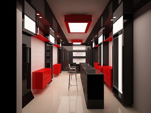الإظهار المعماري وتنفيذ المخططات الهندسية