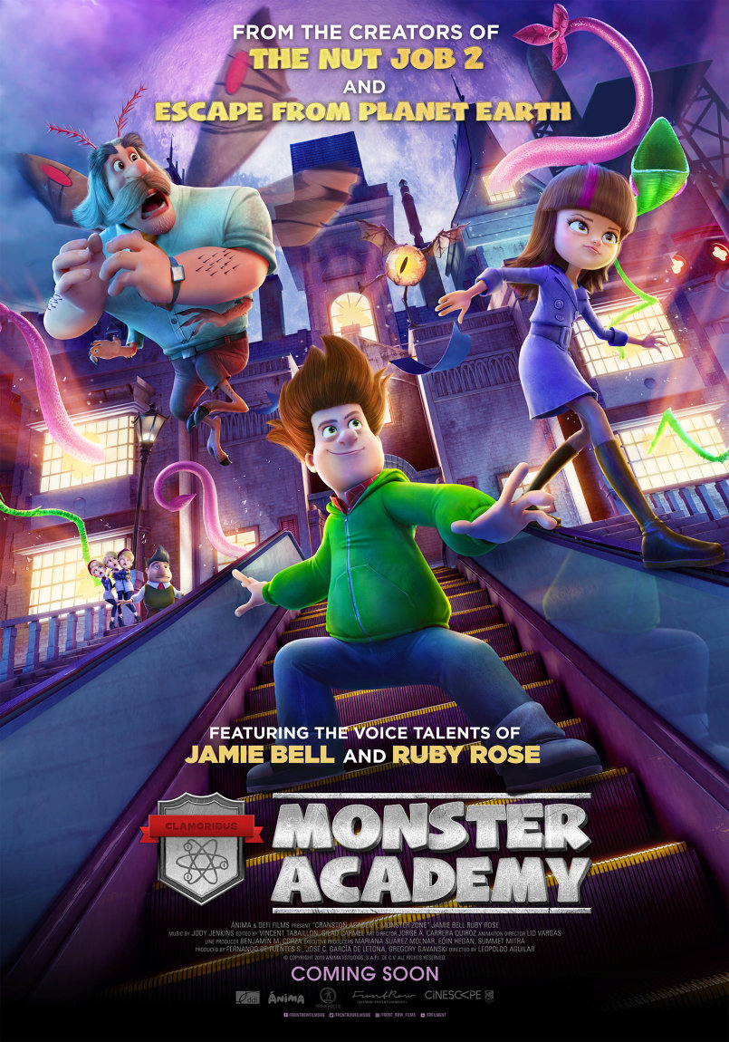MONSTER ACADEMY Creative Character Poster