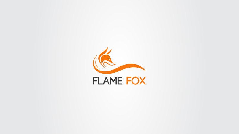 Logo Flame Fox