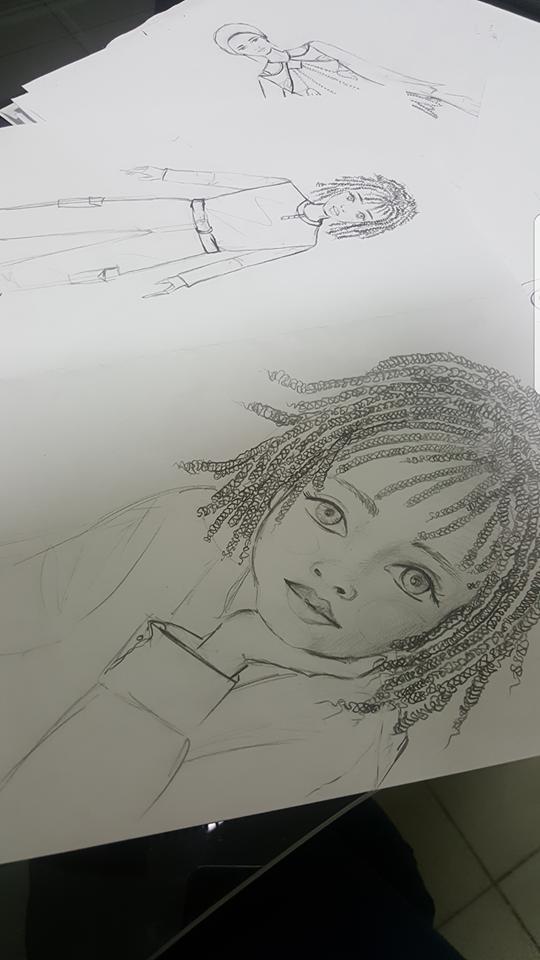 رسم شخصيات واقعية وكرتونية