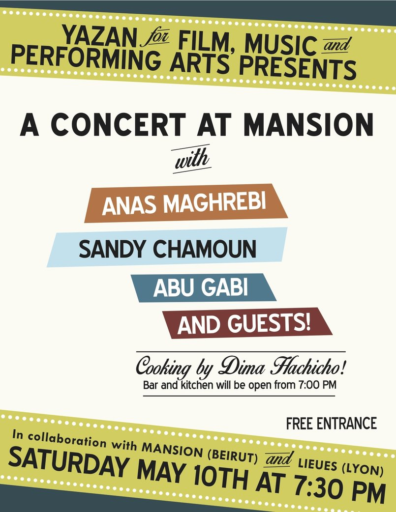 Promotional Concert Poster
