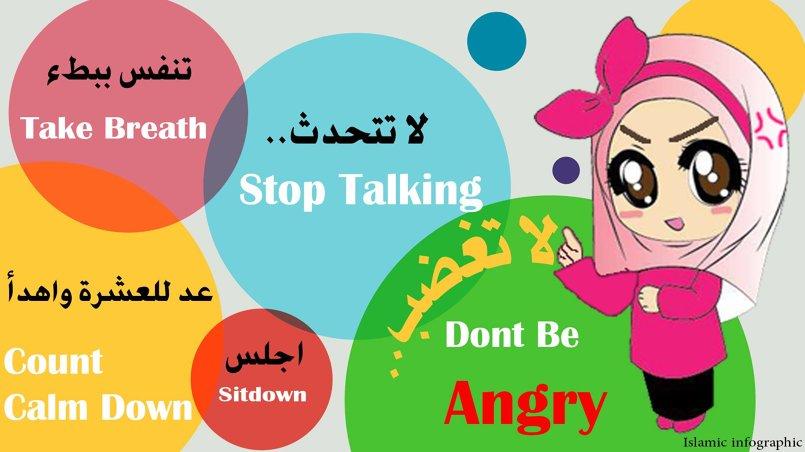 لا تغضب