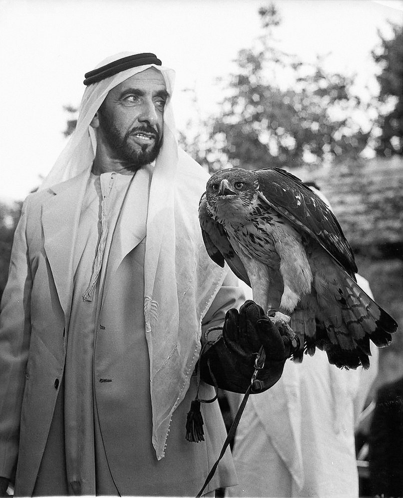 Re-coloring His Highness Sheikh / Zayed Al Nahyan