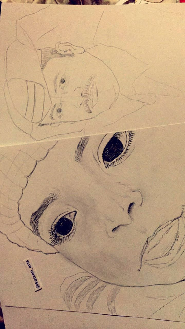 رسم شخصيات ورسم شخصيات كرتونيه رسم ثلاثي ابعاد رسم الخداع البصر