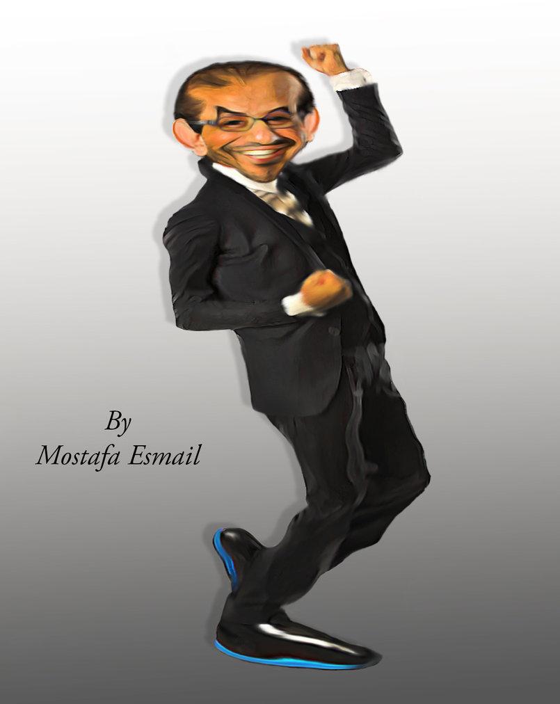 Ahmed Helmy Comic Cartoon