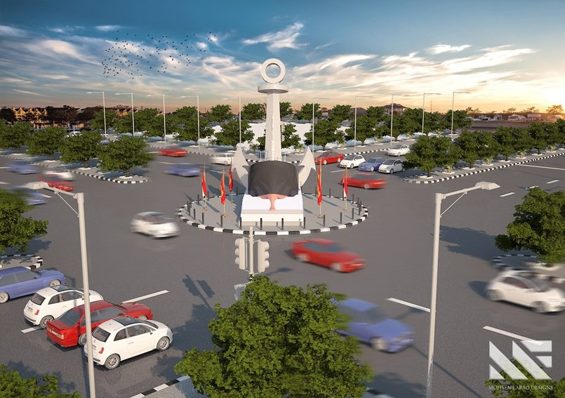 PortSaid Entrance Square Design