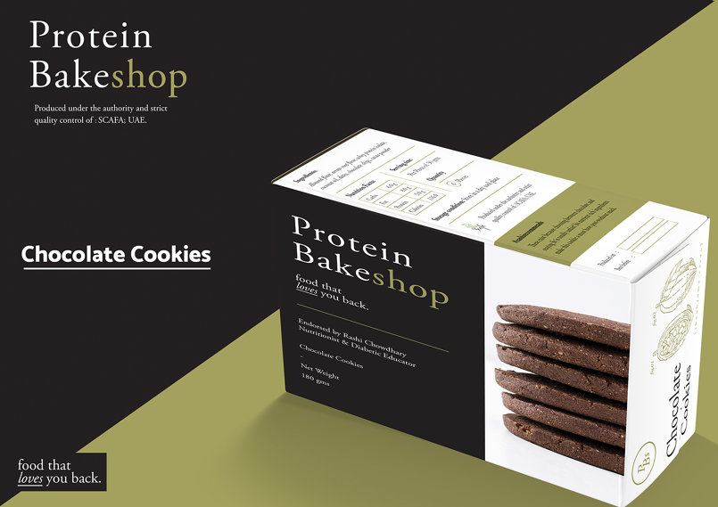Protein Bakeshop Packaging / Part One