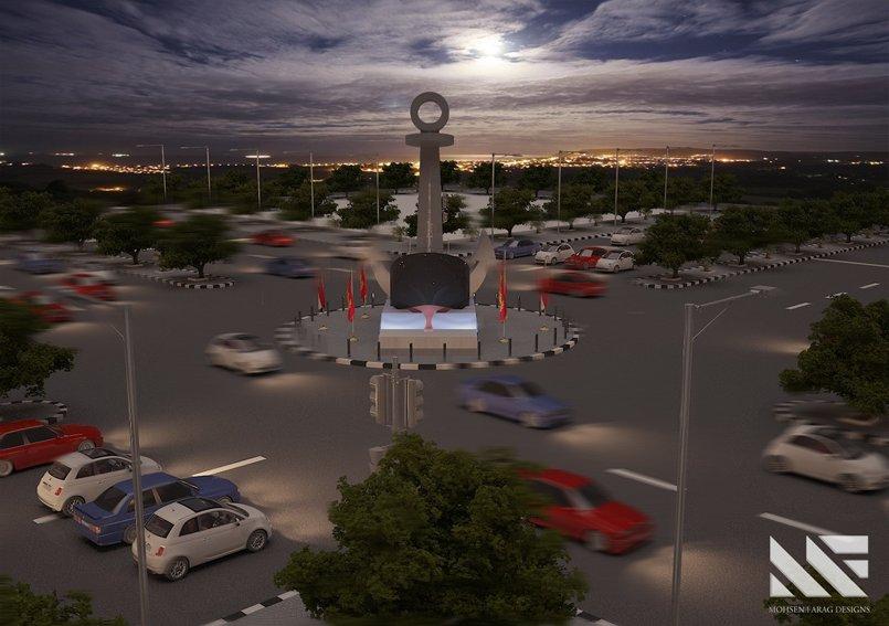 PortSaid Entrance Square Design