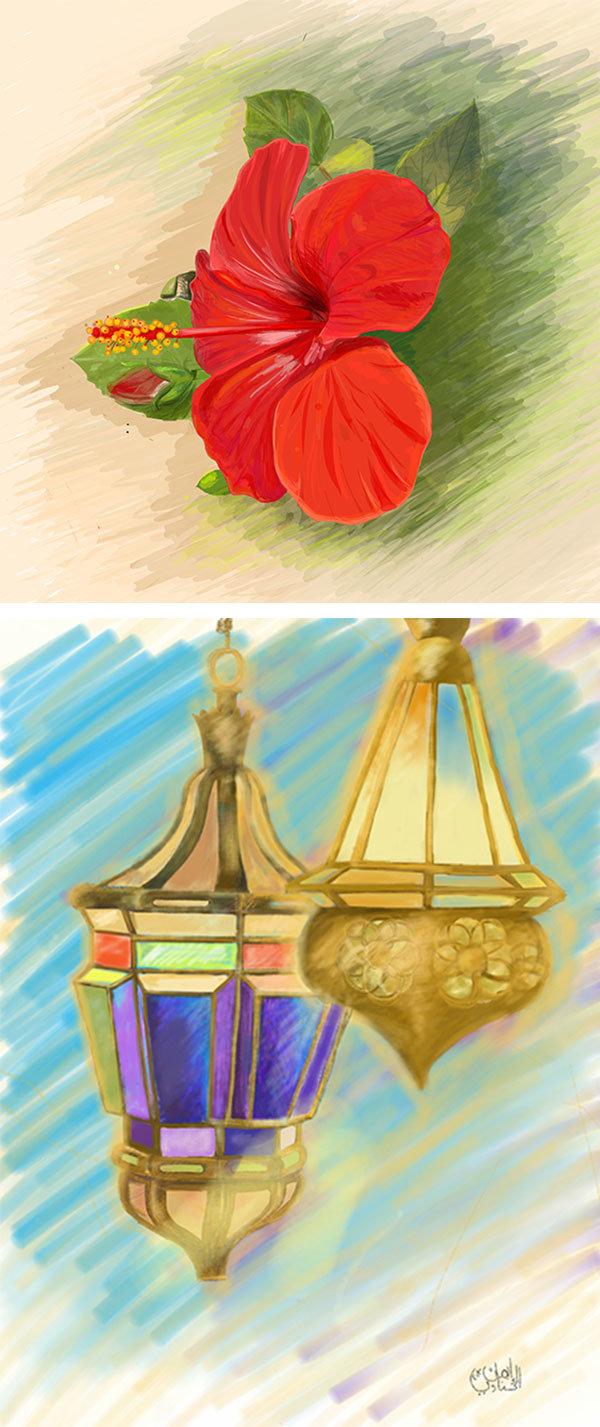 Digital Illustration using Adobe Idea