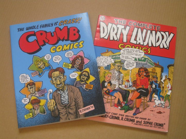 R. Crumb is not for the coy and lighthearted. One of America's most celebrated underground comic artists Crumb's work is very sexual, crude and at times shocking.  His impressive illustration style will often make you overlook his shocking narrative.