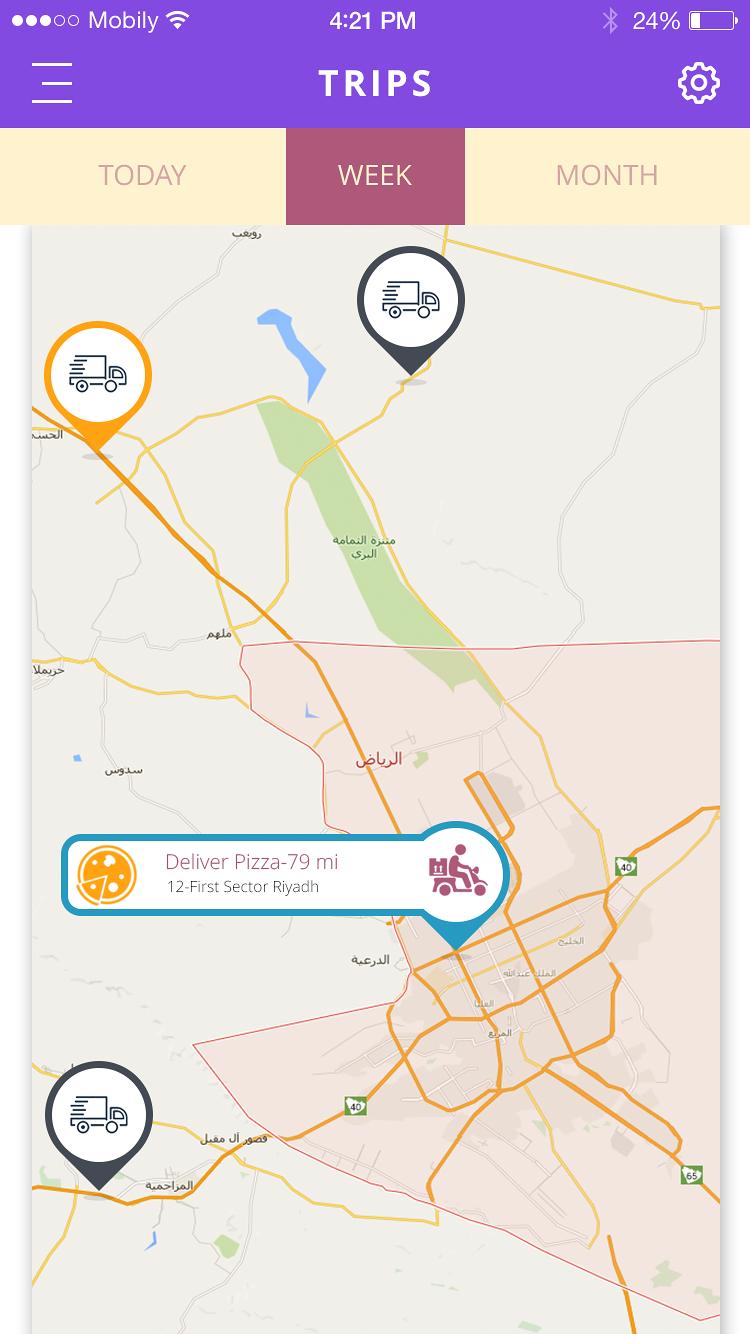 OBD  Restaurant Delivery App