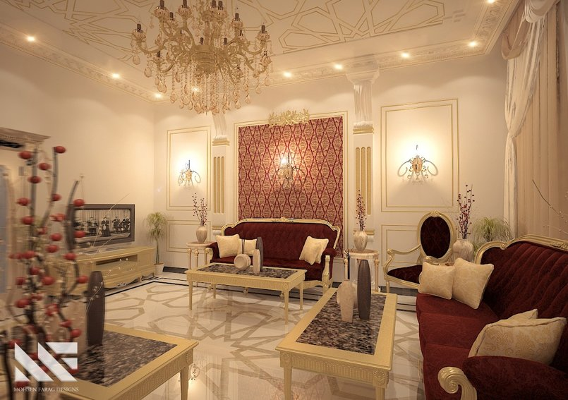Mr.Ahmed El-Zyedy Sitting Room - Jeddah.KSA