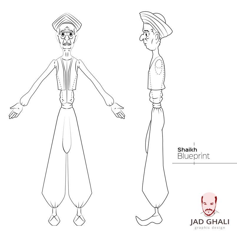 Shaikh Character