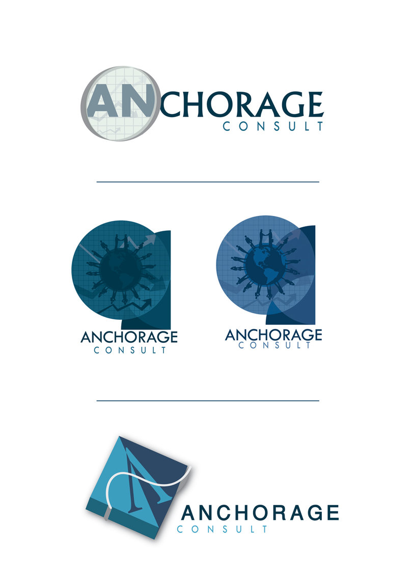 Anchorage logo design